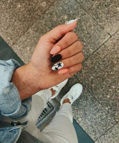 38 Nail Designs and Ideas for Coffin Acrylic Nails – Finger Pretties Aycrlic Nails, Matte Nails, Nail Manicure, Manicure Ideas, Summer Acrylic Nails, Best Acrylic Nails, Summer Nails, Fire Nails, Pretty Nail Art