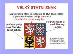 STÁTNÍ SYMBOLY :: Béčko-Tc I School, Czech Republic, Homeschool, Banner, Children, Historia, Banner Stands, Young Children, Boys