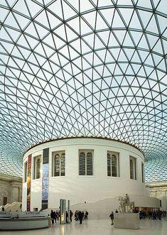 fishnetstocking British_Museum_Great_Court_roof