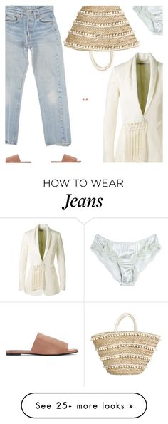 """Untitled #4935"" by amberelb on Polyvore featuring Levi's, Altuzarra, Robert Clergerie, Dolce&Gabbana and Monica Vinader"