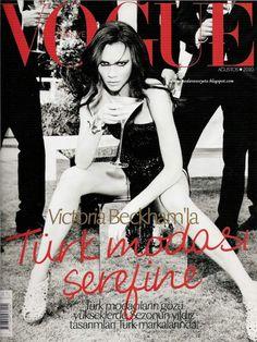 Victoria Becham Vogue Turkey August 2010