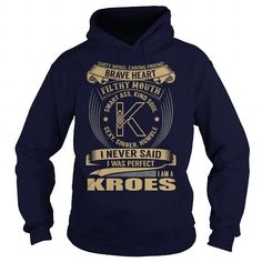 KROES Last Name, Surname Tshirt