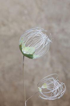 Laurence Aguerre - Sculptures Textiles | Fleurs