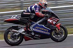 Jean-Michel sur la Modenas modèle 1999