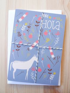 Affordable gifts for kids who love horses: greeting cards from Pai and Pear