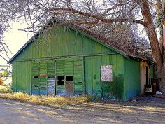 Old Green Barn | Flickr - Photo Sharing! Description from flickr.com. I searched for this on bing.com/images