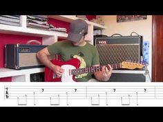 APRENDE A TOCAR SMOKE ON THE WATER ACORDES LECCION FACIL GUITARRA ELECTRICA - YouTube