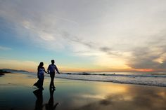 maternity photos at beach with dog | landscape maternity at ocean beach the best place for beach sunset ...