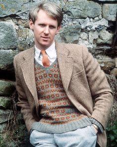 """SMW Home's Tristan Stripe . . . "" British Period Dramas, James Herriot, Peter Davison, Prinz Charles, Classic Doctor Who, Comedy Tv, Saint James, Knit Patterns, Cool Things To Make"