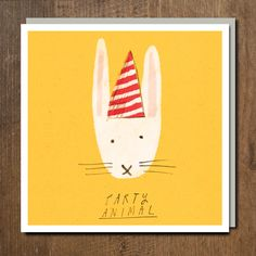Party Animal by Jarvis for Urban Graphic Ltd.