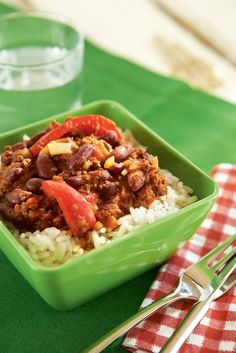 Chili sin carne | K-ruoka #kasvisruoka