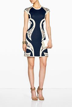 Brilliant printing makes this Alice by Temperley style ($406) a figure-flatterer.