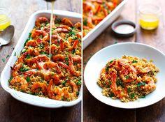 Garlic Butter Shrimp and Quinoa   25 Quinoa Recipes That Are Actually Delicious
