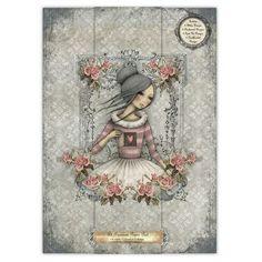 Santoro Mirabelle - A4 Premium Paper Pad