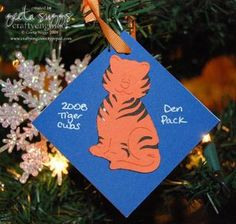 1000 images about cubscout crafts on pinterest cub for Cub scout ornament craft