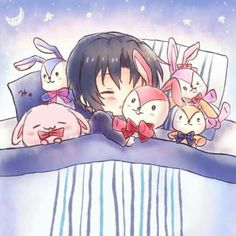 4th Anniversary, Chibi, Idol, Kawaii, Manga, Cute, Pictures, Twitter, Drawings