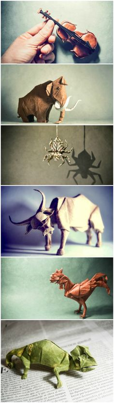 Imaginative Paper Origami Creations By Gonzalo Calvo