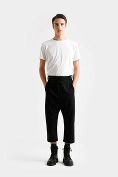 Odeur Virgin Wool croppped pants
