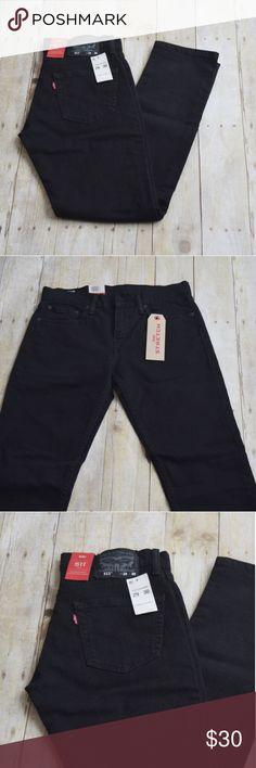 ce9301c66bb LEVI'S 511 Slim Fit Jeans - Black Stretch NWT LEVI'S 511 Slim Fit Jeans -  Black