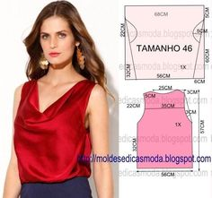 BLOUSE DO-47 EASY ~ Templates Fashion by Measure