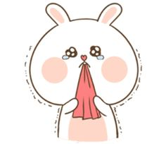TuaGom : Puffy Bear & Rabbit by Tora Jung Cute Chibi Couple, Cute Couple Cartoon, Cute Love Cartoons, Cute Bear Drawings, Cute Cartoon Drawings, Cartoon Pics, Cartoon Memes, Kawaii Bunny, Cute Kawaii Animals