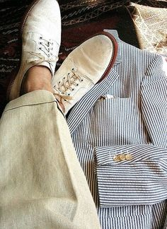 summer styles, fashion shoes, southern gentleman, men fashion, men's footwear, men clothes, men shoes, linen, lazy summer days