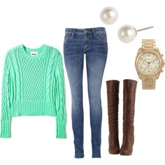 Polyvore.com is so addicting. Just made this and I plan to wear it!