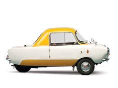 The Frisky Family Three Micro Car, England 1959 1024×768 пикс