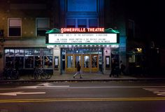 Exterior of Somerville Theatre-9 Boston-area movie theaters you can booze in