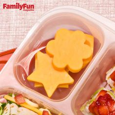 Food Cutter Cuteness: Use mini or sandwich food cutters to transform ...