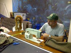 Real men sew