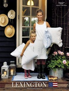 Lexington Company designer of bedding collection: Joanna Swanson Lexington Style, Lexington Company, Lexington Home, Die Hamptons, Weekend House, Outdoor Walls, Outdoor Living, New England Style, Living Styles
