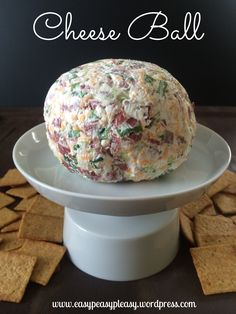 The most delicious and easy 5 minute 4 ingredient Cheese Ball