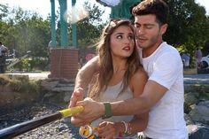Hayat and Murat pics Teen Celebrities, Beautiful Celebrities, Beautiful Actresses, Romantic Couples, Cute Couples, Murat And Hayat Pics, Cute Love Stories, Pics For Dp, Hande Ercel