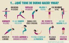 Yoga en español. Los beneficios de Yoga . The benefits of Yoga by 108yogawithlinda