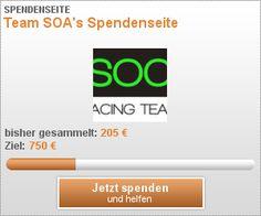 Team SOA's Spendenseite