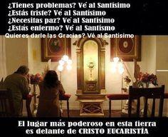 #JuevesEucarístico #JuevesSacerdotal #AdoraciónEucarística #Eucharist #AdorationEucharistic http://www.oblatos.com/15-minutos-en-compania-de-jesus-sacramentado/