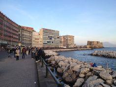 Lungomare di Napoli in Napoli, Campania