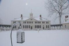 Mount Vernon at Christmas