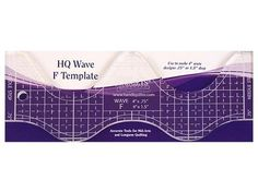 Handi Quilter HG00606 Swag Ruler 4 Templates 6x1