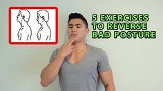 These are great exercises that will help reverse bad posture. It will strengthen the weak deep neck muscles and upper back and loosen tight muscles such as y. Posture Fix, Posture Exercises, Bad Posture, Neck And Back Pain, Neck Pain, Tight Neck, Lower Back Exercises, Judo, Health