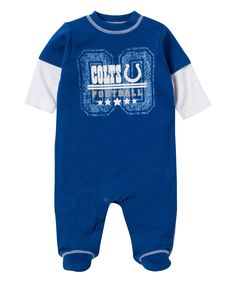 dfdfd8681 Indianapolis Colts Layered Footie - Infant