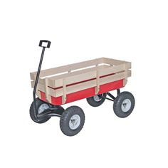 Kids' Pull-Along Wagons - Bigfoot Allterrain Steel and Wood Wagon ** Be sure to check out this awesome product. Harbor Freight Tools, Wheelbarrow Garden, Truck Repair, Bicycle Crunches, Radio Flyer, Red Wagon, Bigfoot, Lawn Care, Games For Kids