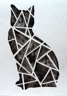 geometric cat - Google Search