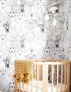 Sarah Sherman Samuel:master bedroom / nursery nook makeover | Sarah Sherman Samuel