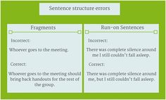 How to Avoid Common Mistakes in Essay Writing: Sentence Structure Errors #essay #writingtips