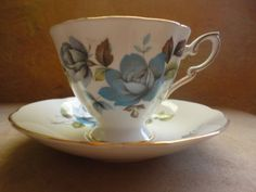 ...to tea cups I have known...Vintage tea cup and saucer Paragon fine bone china by PeggiesPlace, $25.00