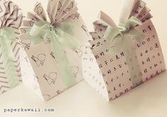 origami box bag - Buscar con Google
