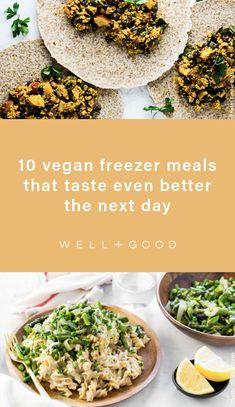 vegan recipes Superfood Recipes, Vegan Recipes, Cooking Recipes, Nutrition Articles, Diet And Nutrition, Vegan Freezer Meals, Meatless Meatloaf, Enchiladas Healthy, Vegane Rezepte