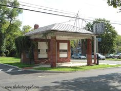 Filling and Service Station in Roebling, NJ. Built in 1927.